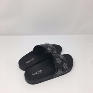 Black Pool Splash Sandals